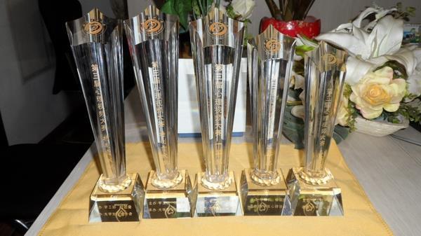成都水晶奖杯定制 水晶奖牌制作 定做活动纪念奖杯